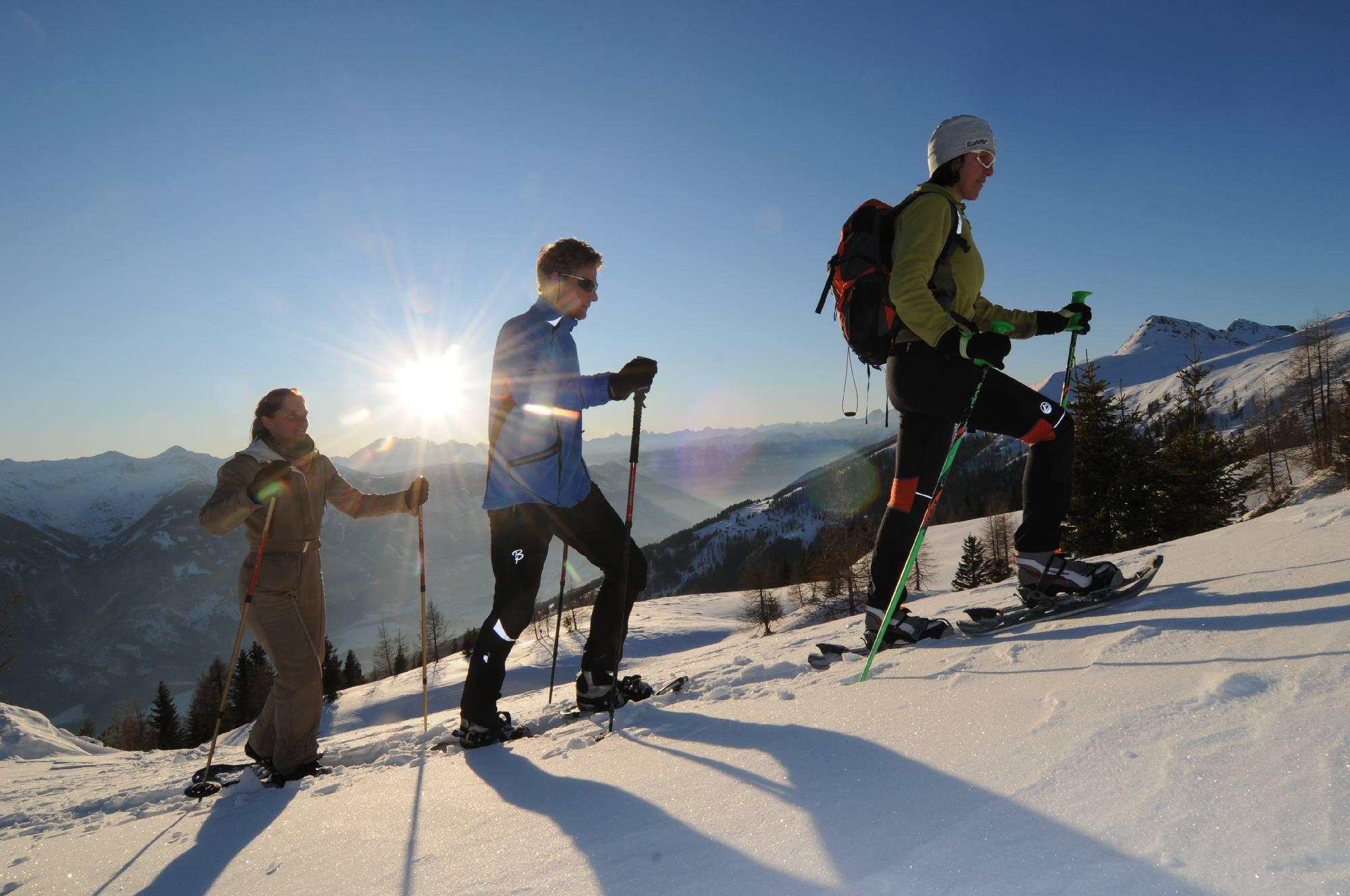 Schneeschuhwandern im Oberdrautal