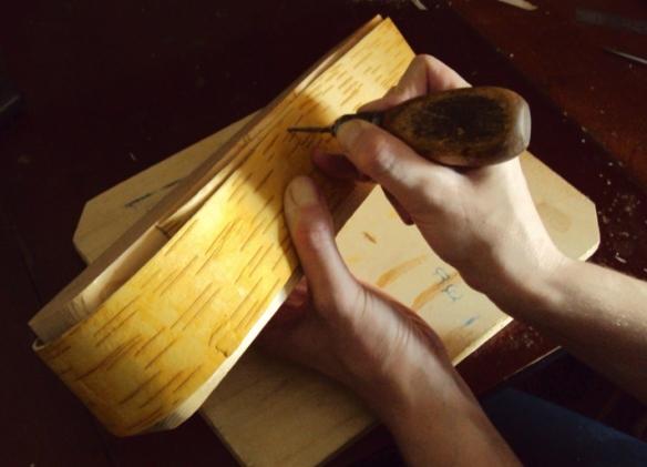 как сделать шкатулку из бересты своими руками