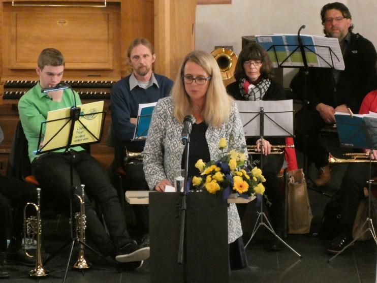 Nicole Reschke in Oberfischbach