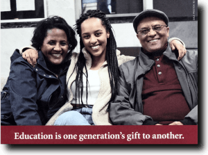 Education is gift.