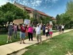 UAW Inverse Protest