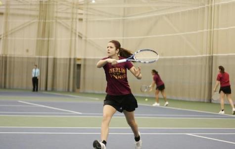 Lewis Leads Streak in Women's Tennis