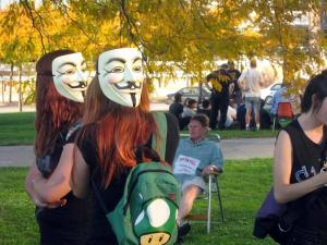 Occupy Cleveland Inspires Despite Small Crowd