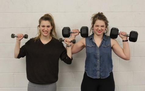 In the Locker Room with Phoebe Hammer and Simone Brodner