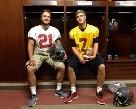 In the Locker Room with Blake Buckhannon and Lucas Poggiali