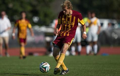 Ingham's Late Goal Puts Men's Soccer on Top