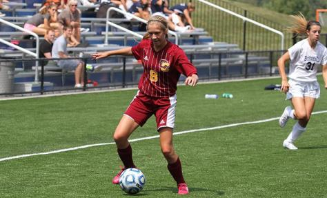 Women's Soccer Begins Conference Play on High Note