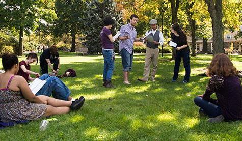 Students Organize Informal Shakespeare Performance
