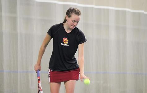 Women's Tennis Struggles Against Ranked Foe