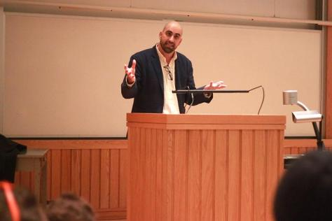 Off the Cuff: Steven Salaita, pro-Palestinian activist and professor of American Indian studies