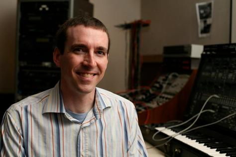 On the Record with Peter Swendsen, assistant professor of Computer Music and Digital Arts