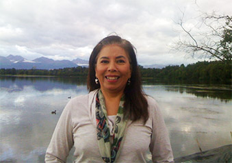 Ethnomusicologist and Director of Alaska Native Studies at the University of Alaska, Anchorage, Maria Williams gave a lecture Monday titled Indigenous Expressive Culture and Environment in the 21st Century: The Role of the Artist in Alaska.