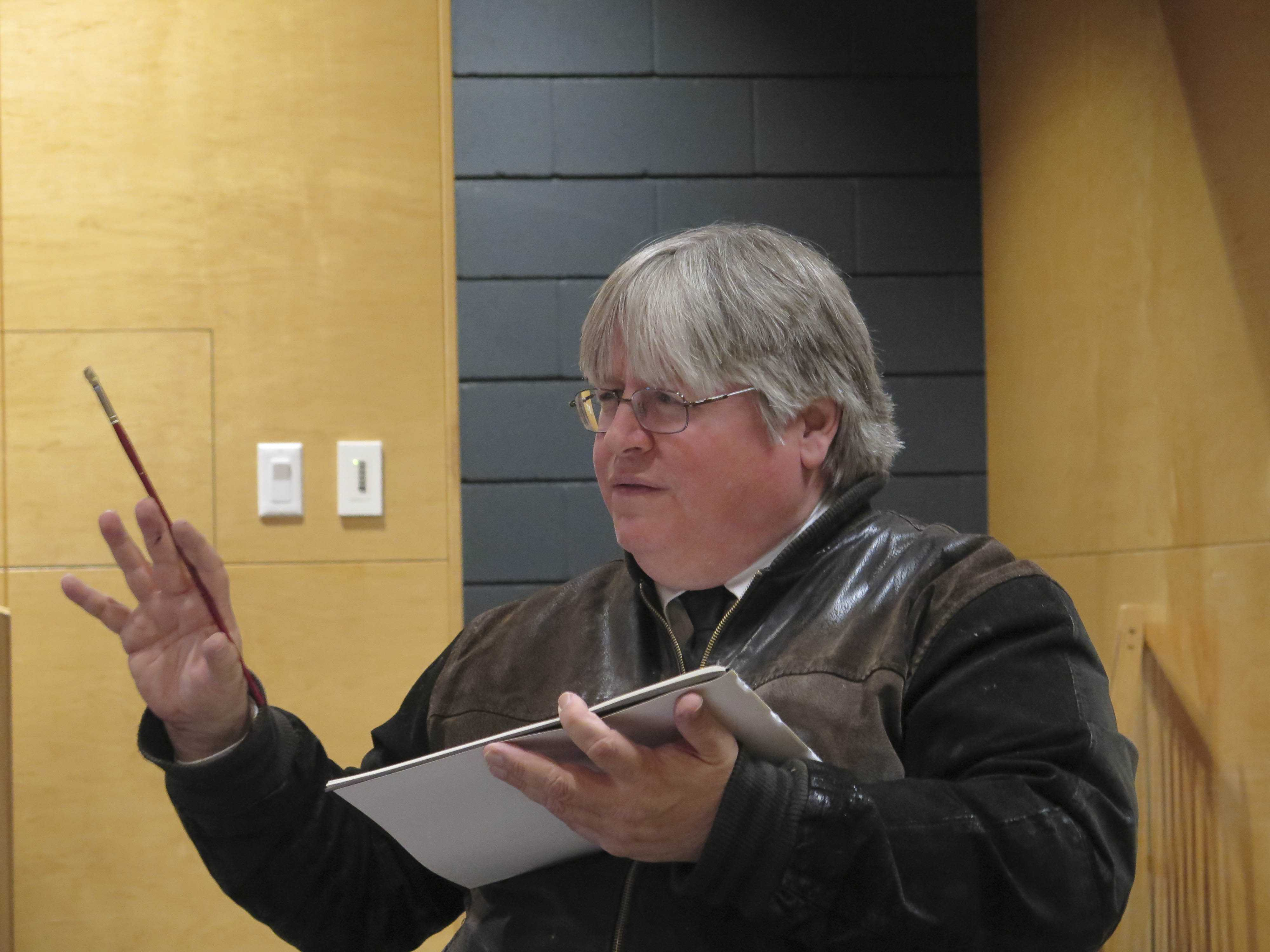 Edward Hummingbird, director of Institutional Research and Planning at the Southwest Indian Polytechnic Institute, who delivers a talk Wednesday in conjunction with AMAM exhibition Exploring Reciprocity: The Power of Animals in Non-Western Art