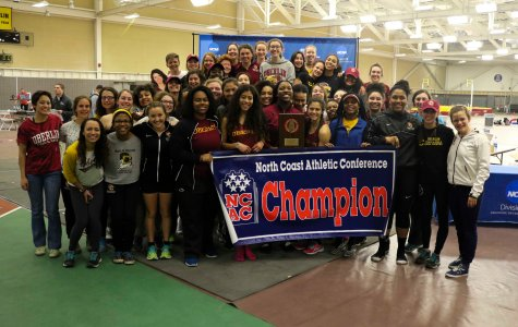 Track and Field Claims Program's First Conference Title