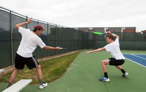 In the Locker Room with Men's Tennis