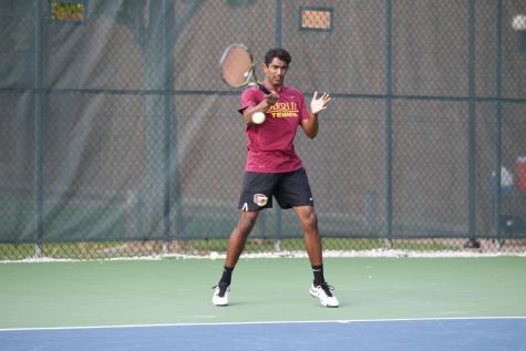 Tennis Downs Denison at NCACs