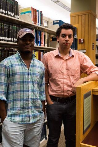 Melvin Briggs, León Pescador, New Student Senators