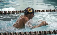 Swimming, Diving Fall Short at Case Western Meet