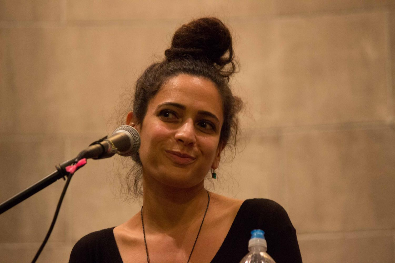Poet and author Hala Alyan.