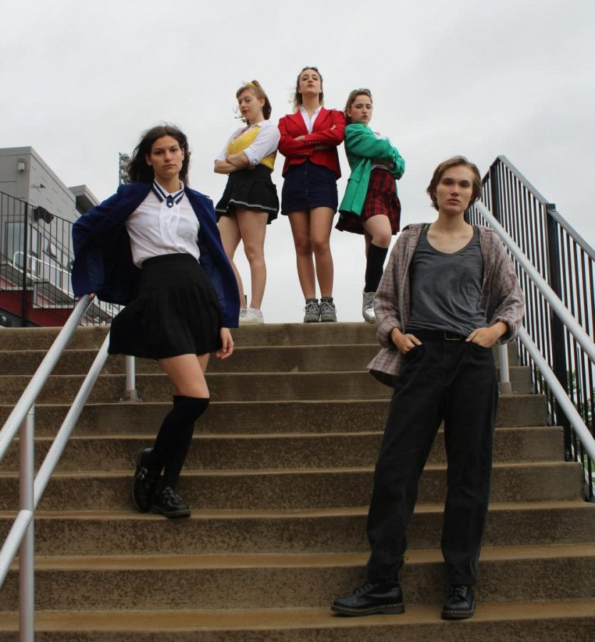 Cast+members+from+Heathers%3A+The+Musical+performed+the+cult+%E2%80%9980s+hit+dealing+with+issues+of+teen+suicide%2C+murder%2C+and+clique+culture+in+Wilder+Main+Space+Nov.+17.