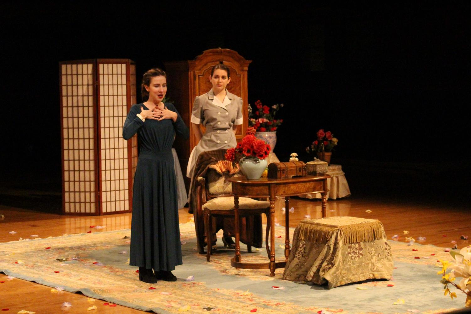 College senior Eliana Meyerowitz directs a sinister production of The Maids, a play by Jean Genet that explores themes of oppression and violence.