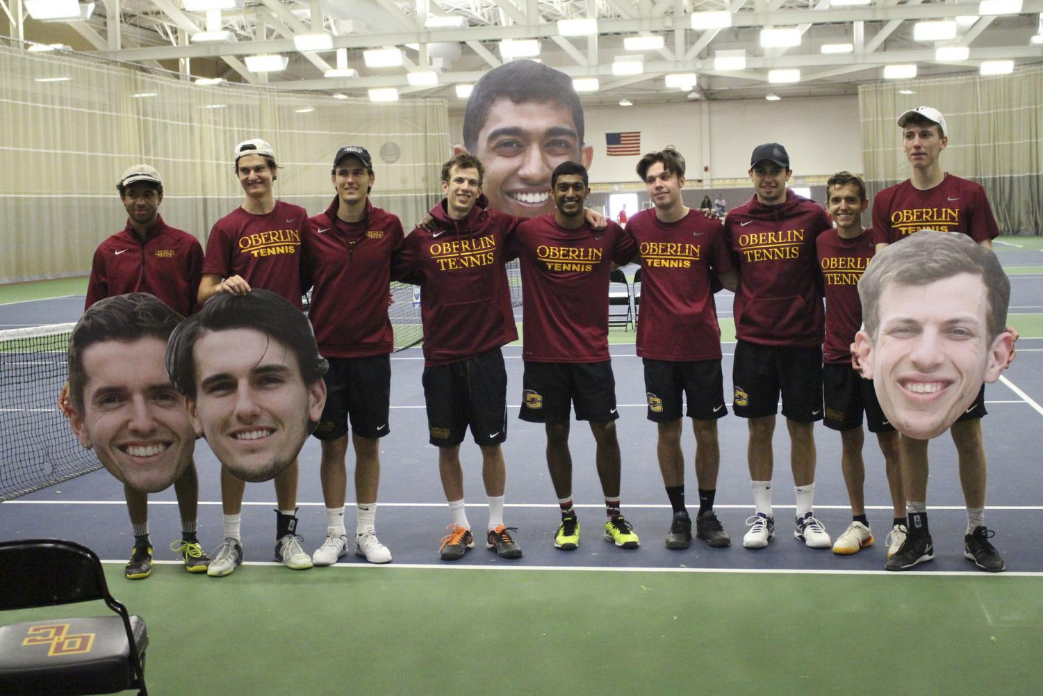 The men's tennis team, led by four seniors, will look to get revenge against the sixth-seeded DePauw University — who knocked them out of the NCAC Tournament last year — today at 9 a.m. in Indianapolis.