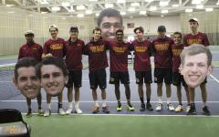 Men's Tennis Splits Heading into NCAC Tournament