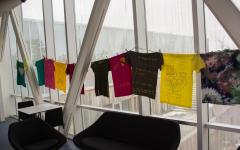 Skybar Features Clothesline Project