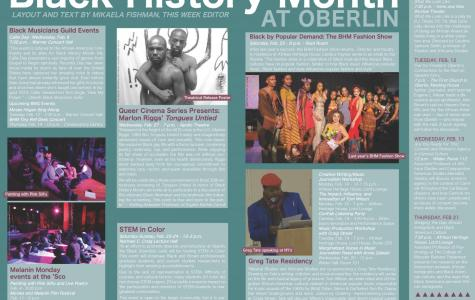 Black History Month at Oberlin