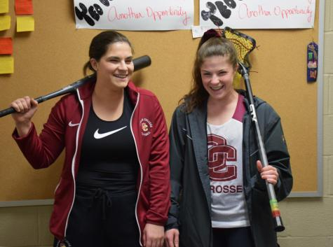 In The Locker Room with Emily and Izzy Berner, Student-Athletes and Sisters