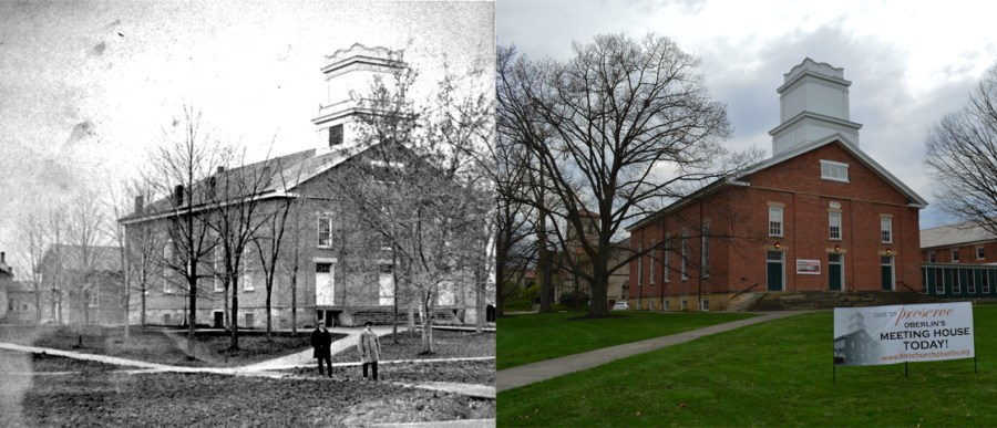 The+First+Church+in+Oberlin%2C+United+Church+of+Christ%2C+in+1870%2C+and+the+same+building+in+2019%2C+almost+150+years+later.