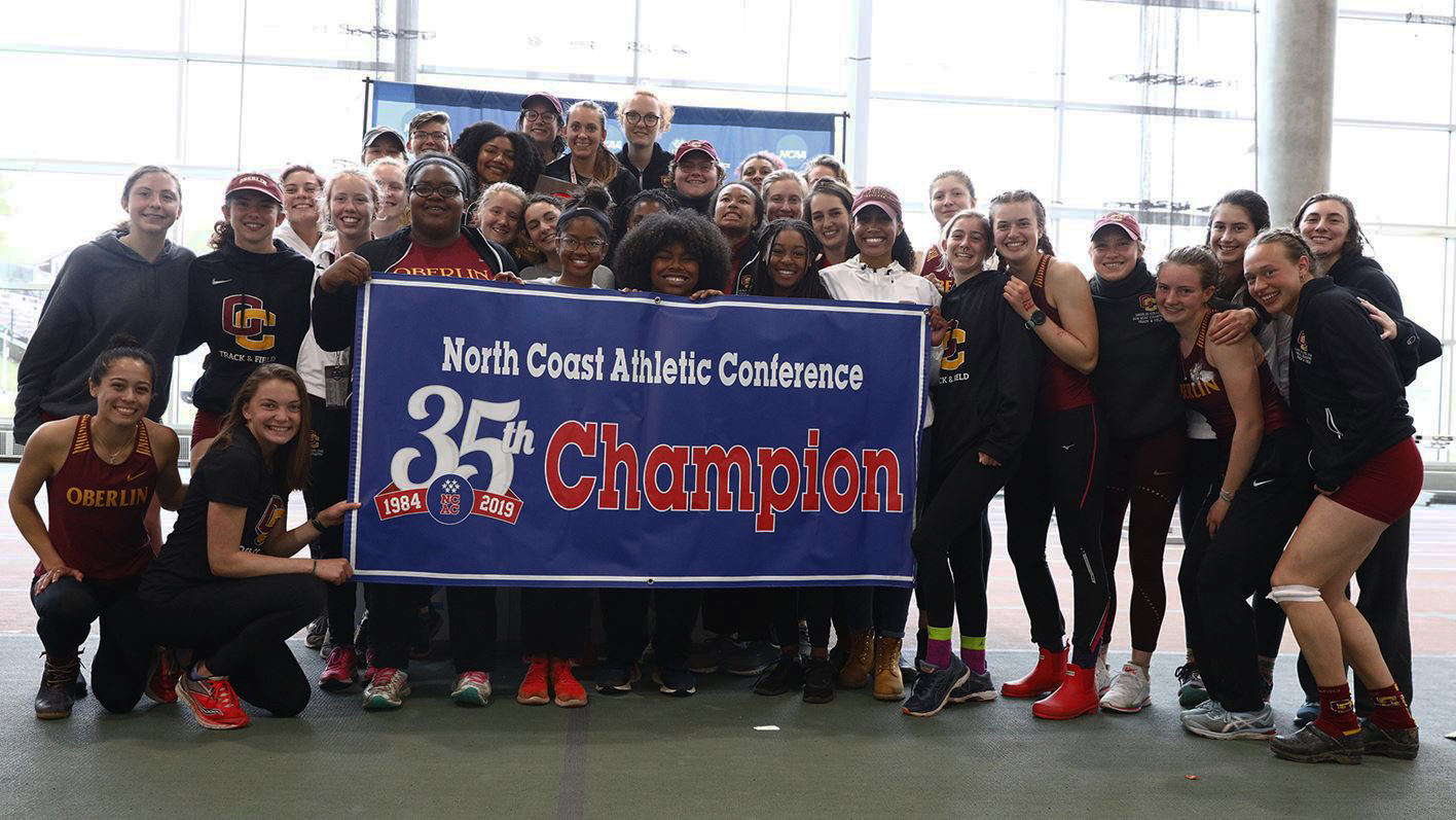 Women's track and field ventured to Gambier, Ohio for the North Coast Athletic Conference Championship last week and promptly swept the competition for the sixth time in a row. Guided by NCAC Women's Outdoor Coach of the Year, Ray Appenheimer, the Yeowomen finished with 211 points — 51 points ahead of second-place Ohio Wesleyan University. While the NCAC season is now over, a select number of Oberlin's track and field athletes will continue to train for the upcoming NCAA DIII Championships meet in the next few weeks. Until then, however, the team will celebrate its success as the season comes to a close.