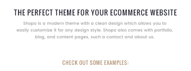 Shopo - Simple & Clean Responsive Shopify Template