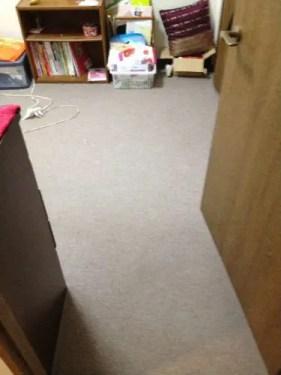 寝室床の不用品ゴミ片付け後 都島区の片付け業者トリプルエス