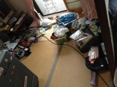汚部屋を片付ける起点となる比較的不用品の少ない和室