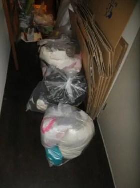 奈良県生駒市の汚部屋不用品片付け回収作業