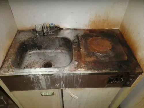 東淀川区の汚部屋掃除片付け業者トリプルエスのハウスクリーニング