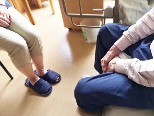 清潔な高齢者介護施設