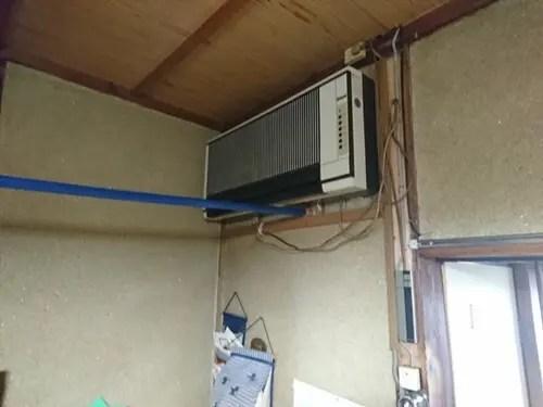 古いエアコンも回収処分 大阪のトリプルエス