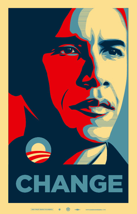 NEW OBEY GIANT OBAMA POSTER