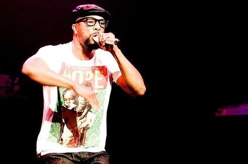 COMMON Performs with HOPE