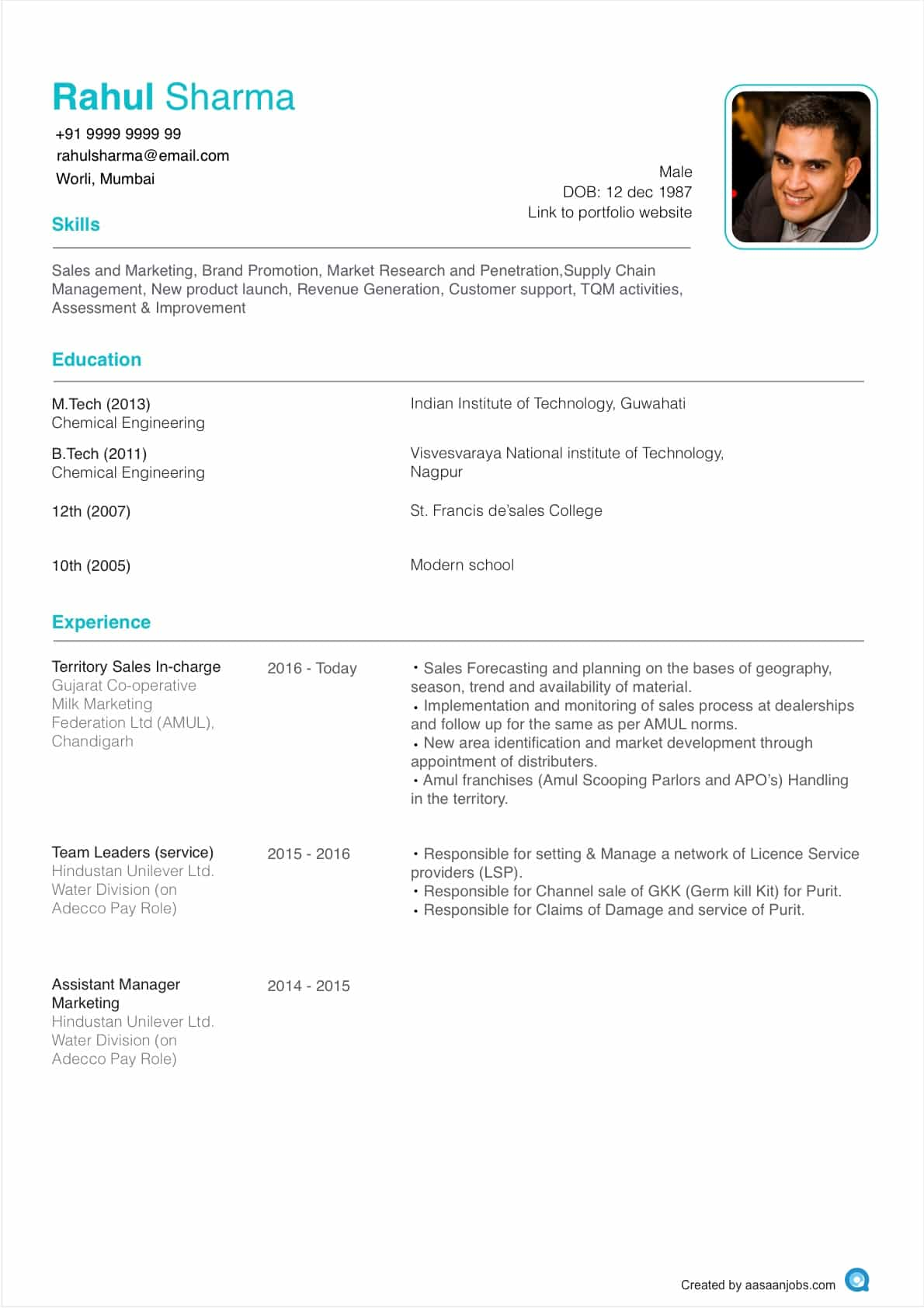 How To Make Resume With Photo How To Write The Best Resume Format