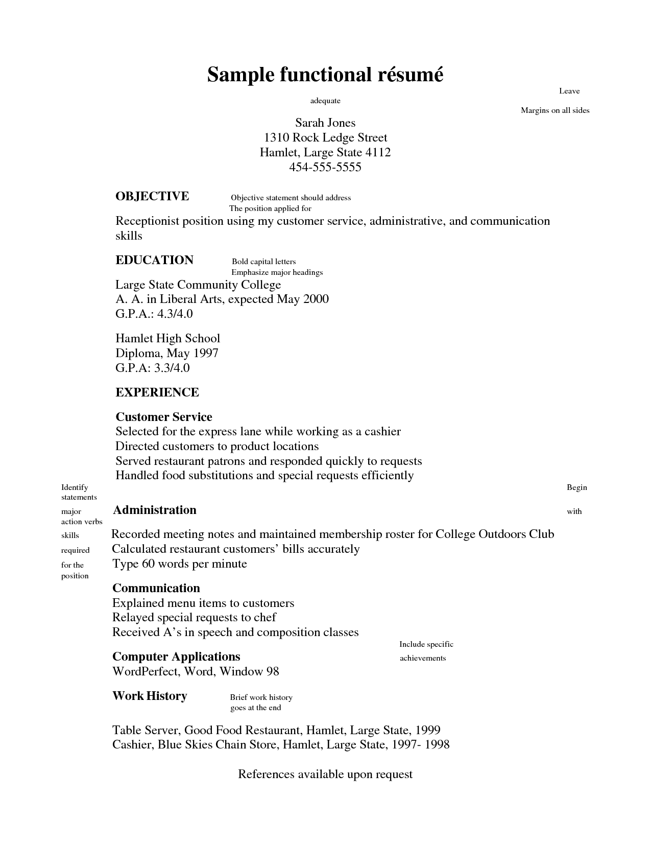 What Is A Good Objective To Write On A Resume Resume Objective Statement
