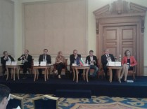 Keynote speakers Dr Susanne Nies and Andrzej Blach, Slavtcho Neykov