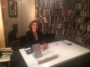 Booksigning in Paris at l'Harmattan