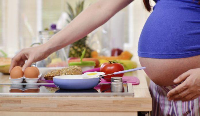 Image result for pregnant eat breakfast