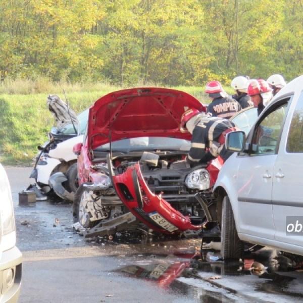 Slobozia: Cum s-au produs accidentele din intersecția Chimiei cu varianta, din acest weekend. Oficial de la Inspectoratul de Poliție Ialomița