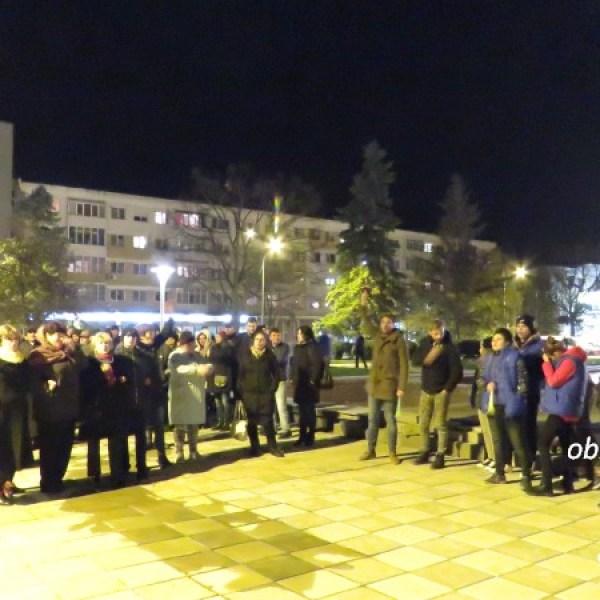 PNL Ialomița a protestat la Slobozia față de politicile PSD și ale Guvernului