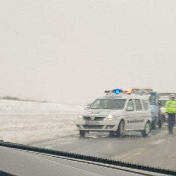 Accident între Bucu și Slobozia. Foto