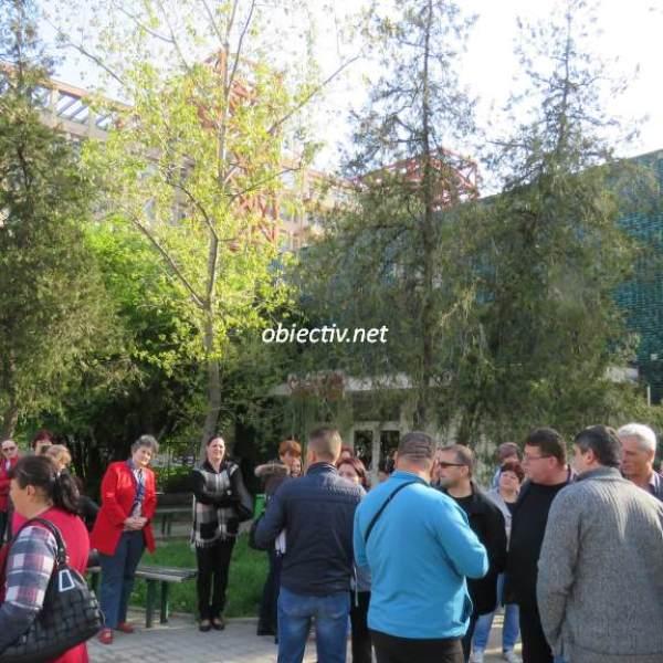 Protest la Spitalul Județean de Urgență din Slobozia, din cauza diminuării sporurilor